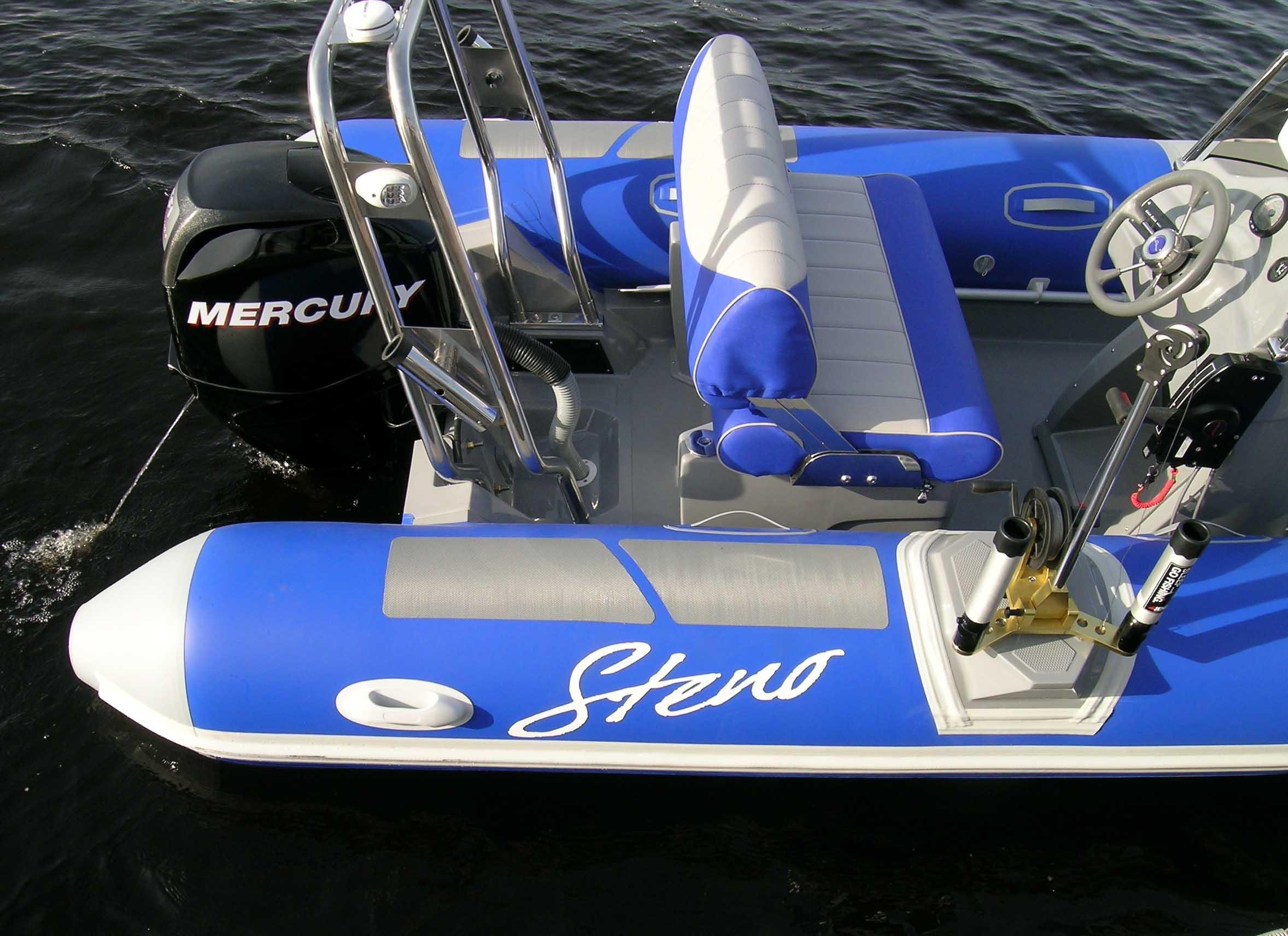 Универсальная надувная лодка Steno RIB 535