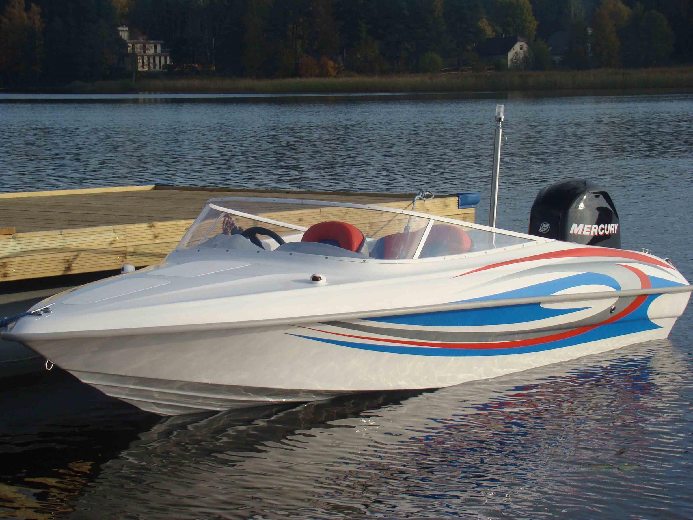 Превосходная моторная лодка Steno 18