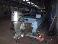 Пример усиления транца моторной лодки Казанка