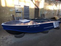 Пример тюнинга моторной лодки Прогресс