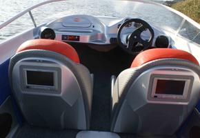 Универсальный, скоростной пластиковый катер Steno 18