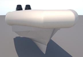 Многофункциональное десятиметровое судно Steno RIB 1100