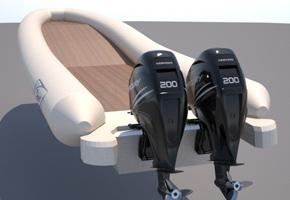 Steno RIB 1100 многоцелевой катер, разработанный по оригинальному проекту