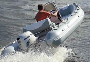 Надувная моторная лодка Steno RIB 500
